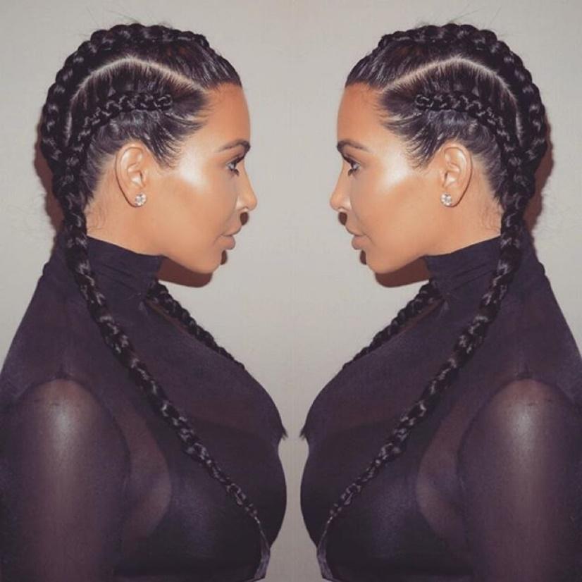 double tresses kim kardashian