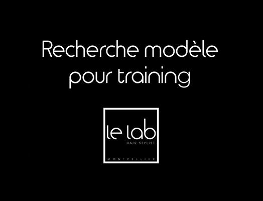 recherche modèle training lelab salon coiffure montpellier